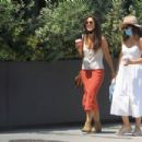 Camilla Belle – On a stroll with a friend in West Hollywood