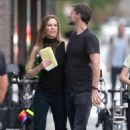 Hilary Swank – On the set of 'Fatale' in Los Angeles - 454 x 681