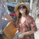 Amy Adams in Long Dress Shopping in Los Angeles - 454 x 561