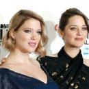 Léa Seydoux and Marion Cotillard :  It's Only the End of the World - 60th BFI London Film Festival - 454 x 298