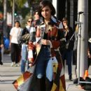 Sofia Carson on Rodeo Drive in Beverly Hills