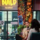 Nina Dobrev – Visits Build Studios to discuss 'Lucky Day' in New York City - 454 x 808