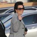 Kris Jenner was seen arriving at Nobu restaurant March 16, 2017.  (March 16, 2017 - 451 x 600