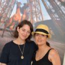 Marion Cotillard Salma Hayek Champ De Mars In Paris