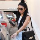 Vanessa Hudgens Leaving The Doctors Office In Beverly Hills