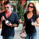 Mezhgan Hussainy and Simon Cowell - 454 x 372
