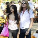 Sebastian Bach go to the pumpkin patch in Beverly Hills