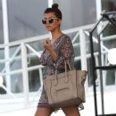 Kourtney Kardashian: leaves her hotel solo in Miami