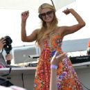 Paris Hilton Djs In Saint Tropez