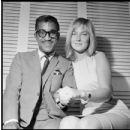 Sammy & wife May Britt