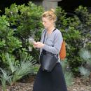 Claire Danes – Arrives at LAX Airport in Los Angeles
