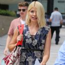 Holly Willoughby at ITV Studios in London