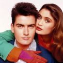 Charlotte Lewis and Charlie Sheen