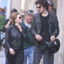 Rebecca Ferguson and her boyfriend Leave 'Mission Impossible 6' set in Paris - 454 x 736