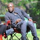 Seal is seen watching his kids Leni, Henry and Johan play soccer in Brentwood, California on January 31, 2015 - 454 x 565