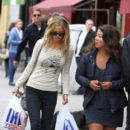 Sarah Harding: shoppping in London