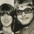 Hywel Bennett and Cathy McGowan - 391 x 269