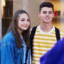 Maddie Ziegler and boyfriend Jack Kelly – Shopping at Balenciaga in Beverly Hills