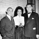 Richard Rodgers, Ethel Merman and Oscar Hammerstein II 1946 ANNIE GET YOUR GUN - 454 x 360