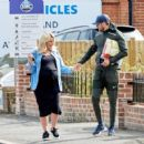 Danielle Armstrong – Showing baby bump with Tom Edney in Essex - 454 x 421