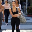 Draya Michele was seen leaving a yoga class in Beverly Hills, California on March 31, 2017 - 420 x 600