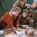 Edward Atterton as King Arthur and Michael Vartan as Lancelot in The Mists of Avalon (2001)