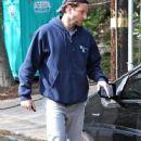 Bradley Cooper Leaving His Los Angeles Home
