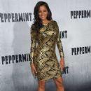 Claudia Jordan – 'Peppermint' Premiere in Los Angeles - 454 x 663