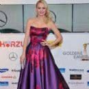 Franziska Knuppe wears Basler - Goldene Kamera 2014