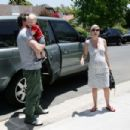 Tori Spelling & Dean McDermott Take Their Son Liam To Music Class In L.A. 2008-06-06