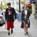 Ashley Benson and Ryan Good in Los Angeles, California (February 4) - 454 x 378