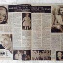 Marlene Dietrich - Hola! Magazine Pictorial [Spain] (6 July 1957)