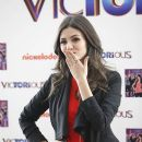 Victoria Justice attends a photocall for her new album 'Victorious' at the ME Hotel in Madrid