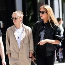 Kristen Stewart and Stella Maxwell – Out for lunch in New York City