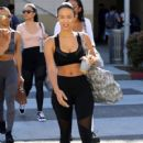 Draya Michele was seen leaving a yoga class in Beverly Hills, California on March 31, 2017
