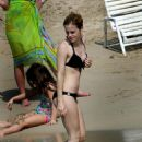 Emma Watson - In A Bikini While On Vacation With Her Boyfriend Jay Barrymore In Jamaica.