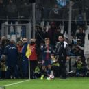 Neymar protected by police shields and security as Marseille fans target PSG star with missiles