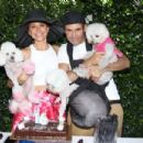 Maria Menounos and Keven Undergaro– Throws a Sweet 16 Birthday Party for Her Dog in Los Angeles - 454 x 303