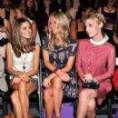 Olivia Palermo: at the Noon By Noor Spring 2013 fashion show during Mercedes-Benz Fashion Week at The Studio at Lincoln Center