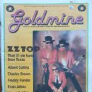 Frank Beard, Dusty Hill, Billy Gibbons - Goldmine Magazine Cover [United States] (18 October 1991)
