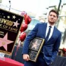 Michael Buble Honored With Star On The Hollywood Walk Of Fame - 454 x 302