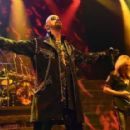 Rob Halford and Glenn Tipton of Judas Priest perform at The Pearl Concert Theater at the Palms Casino Resort on November 14, 2014 in Las Vegas, Nevada - 454 x 286