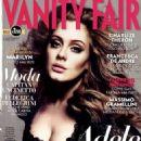 Adele Adkins Vanity Fair Italy April 2012