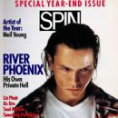 River Phoenix - Spin Magazine Cover [United States] (January 1994)