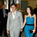 John Stamos and Emma Hemming