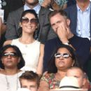 Gemma Arterton – Men's Final Day at the Wimbledon 2019 Tennis Championships in London - 454 x 419