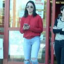 Olivia Munn Shopping at Staples in Los Angeles - 454 x 652