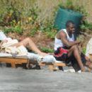 Kim Kardashian - On Vacation In Costa Rica - March 7, 2010 - 454 x 292