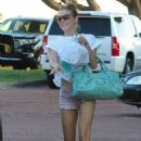 Out and about in Malibu July 22 - 2012