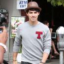 Joe Jonas leaves the King's Road Cafe in West Hollywood. (September 5)